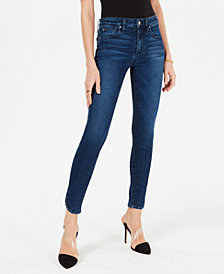 Joe's The Icon Dolphin-Hem Ankle Skinny Jeans