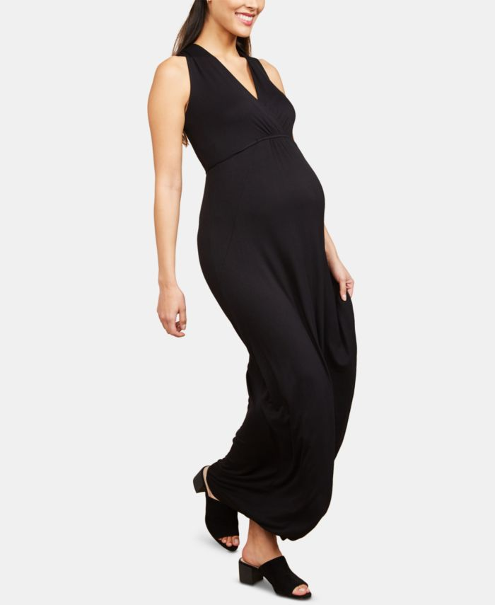 Motherhood Maternity Maxi Dress & Reviews - Maternity - Women - Macy's