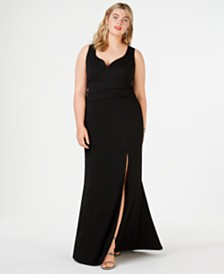 Emerald Sundae Trendy Plus Size Sweetheart Gown