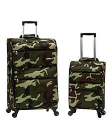 Rockland Gravity 2-Piece Light Weight Luggage Set