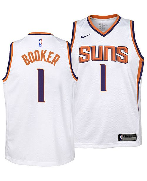 huge inventory 9435b a1635 Devin Booker Phoenix Suns Association Swingman Jersey, Big Boys (8-20)
