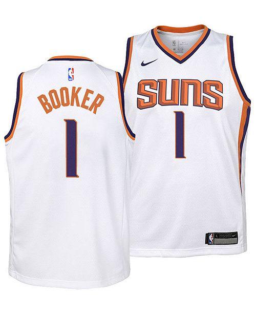 huge inventory b897b ec457 Devin Booker Phoenix Suns Association Swingman Jersey, Big Boys (8-20)