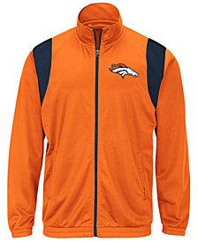 G-III Sports Men's Denver Broncos Clutch Time Track Jacket