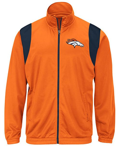 detailed look aa83e f2bc5 G-III Sports Men's Denver Broncos Clutch Time Track Jacket ...