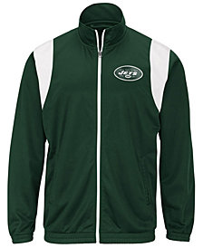 G-III Sports Men's New York Jets Clutch Time Track Jacket