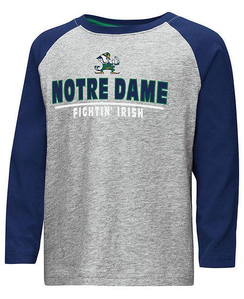 Colosseum Notre Dame Fighting Irish Long Sleeve Raglan T Shirt