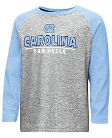 Colosseum North Carolina Tar Heels Long Sleeve Raglan T-Shirt, Toddler Boys (2T-4T)