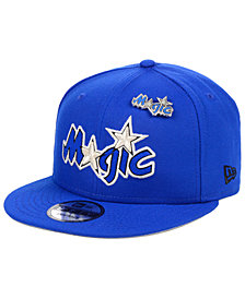 New Era Orlando Magic Hardwood Classic Nights Pin 9FIFTY Snapback Cap