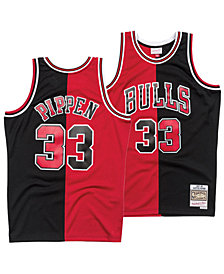 Mitchell & Ness Men's Scottie Pippen Chicago Bulls Split Swingman Jersey
