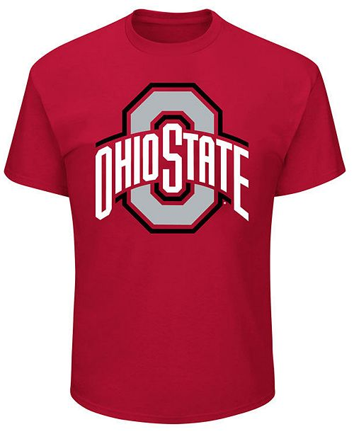 Profile Men's Big & Tall Ohio State Buckeyes Big Logo T-Shirt