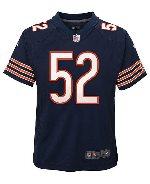 outlet store dceff 31210 Khalil Mack Chicago Bears Game Jersey, Toddler Boys (2T-4T)