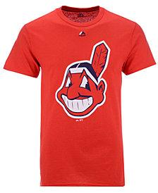 Majestic Men's Cleveland Indians Legacy Logo T-Shirt