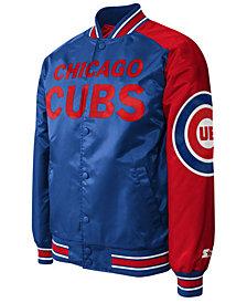 G-III Sports Men's Chicago Cubs Dugout Starter Satin Jacket II