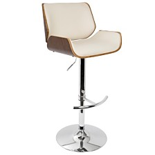 Lumisource Santi Adjustable Barstool