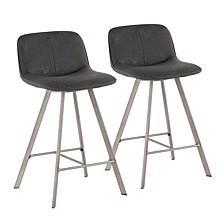 "Sedona 26"" Counter Stool Set of 2"