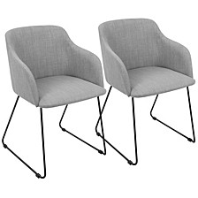 Daniella Chair in Light Set of 2