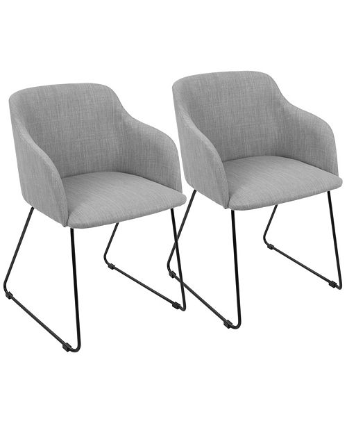 Lumisource Daniella Chair in Light Set of 2