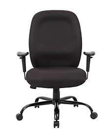 Contoured Comfort Adjustable Rolling Drafting Stool Chair