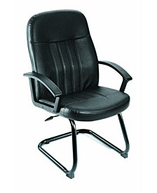 Executive Leather Budget Guest Chair