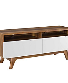 "Modway Origin 47"" TV Stand White"