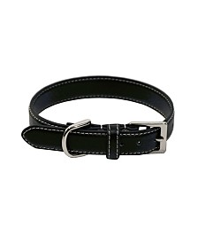 Royce Luxury Small Dog Collar in Genuine Leather