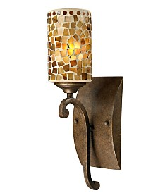 Dale Tiffany Knighton Mosaic Wall Sconce