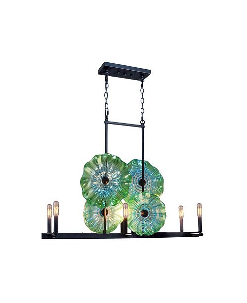 Dale Tiffany 4-Light Waterfront Island Fixture