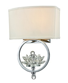 Noble Crystal Wall Sconce