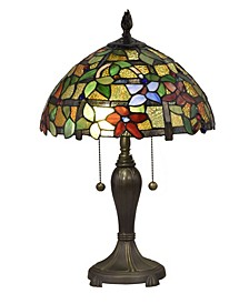 Valencia Floral Tiffany Table Lamp
