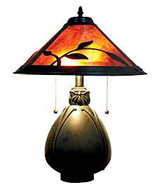 Fall Leaves Mica Table Lamp