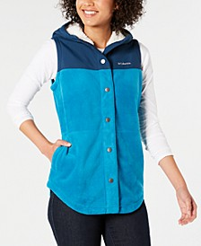 Benton Springs Overlay Fleece Vest