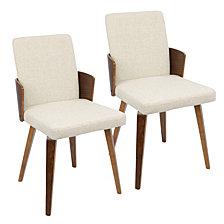 Lumisource Carmella Chair Set of 2