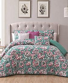 Florianna 6-Pc Queen Comforter Set