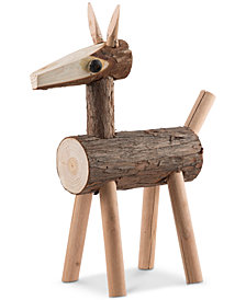 "CLOSEOUT! Home Essentials 13"" Wood Deer"