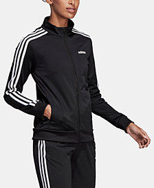 adidas Women's Essential 3-Stripe Tricot Track Jacket