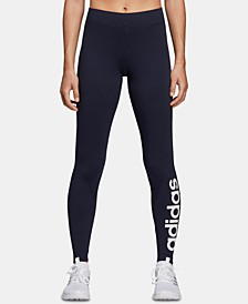 Women's Linear-Logo Leggings