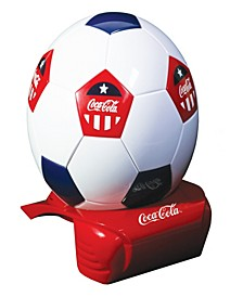 Koolatron Coca Cola Soccer Ball Cooler