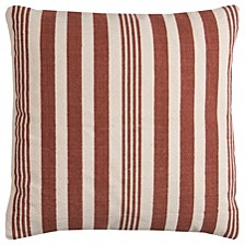 """24"""" x 24"""" Striped Pillow Cover"""
