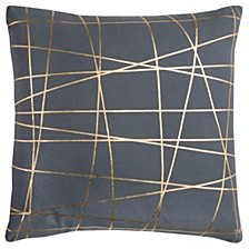 """Rachel Kate 20"""" x 20"""" Abstract Pillow Cover"""