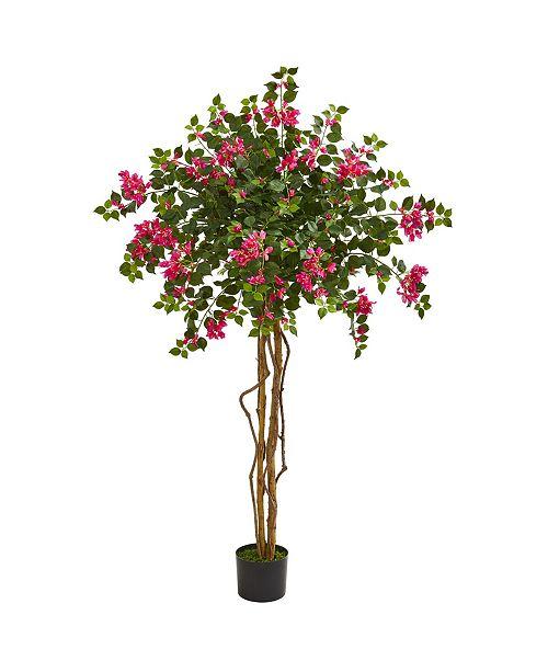 Nearly Natural 5.5' Bougainvillea Artificial Tree