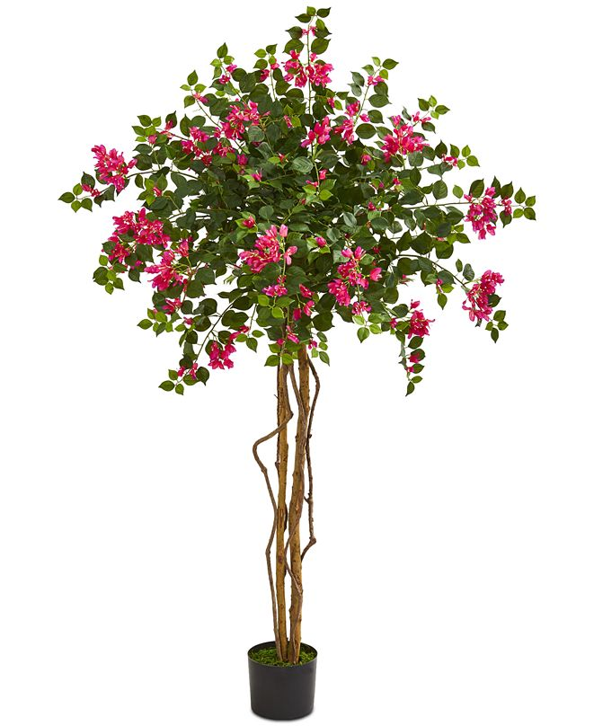 Nearly Natural 5.5' Bougainvillea Artificial Tree