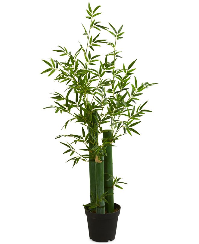 Nearly Natural 5' Green Bamboo Artificial Tree