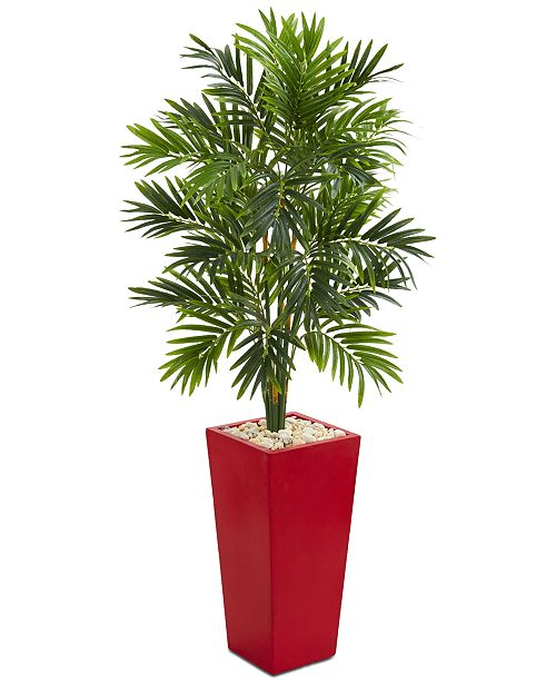 Nearly Natural 4.5' Areca Artificial Palm Tree in Planter