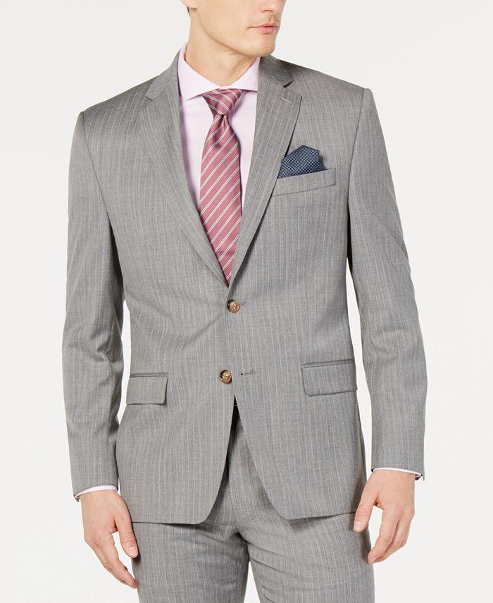 Lauren Ralph Lauren - Men's UltraFlex Classic-Fit Stripe Jacket