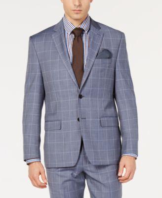 Men's Windowpane UltraFlex Classic-Fit Jacket