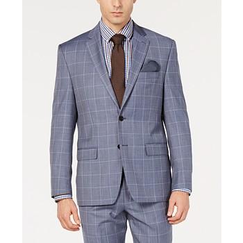 Ralph Lauren Men's Windowpane UltraFlex Jacket + $30 Macys Money