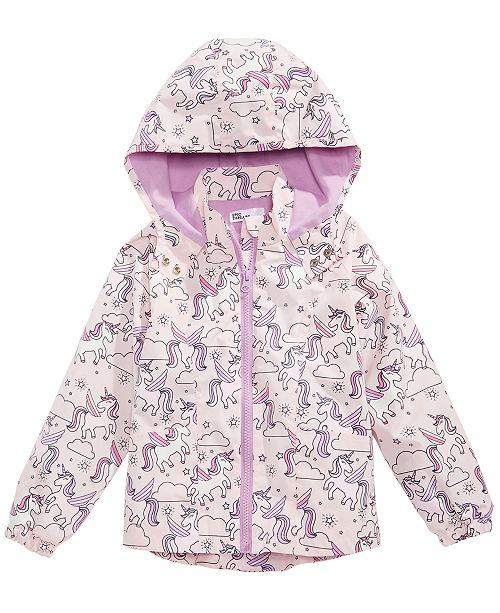 f2e251db7454 Epic Threads Toddler Girls Color Changing Unicorn-Print Rain Jacket ...