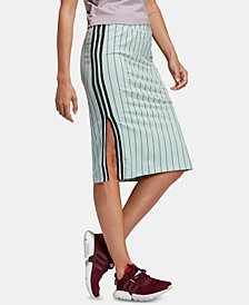 adidas Originals Stripe Out Slit Skirt