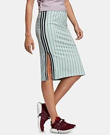 adidas Originals Stripe Out Slit Skirt