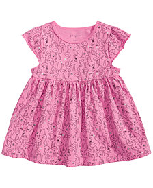 First Impressions Baby Girls Flamingo-Print Tunic, Created for Macy's